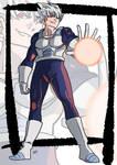 Commission: Super saiyan white