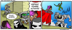 Team Talon blasts off again: Matador