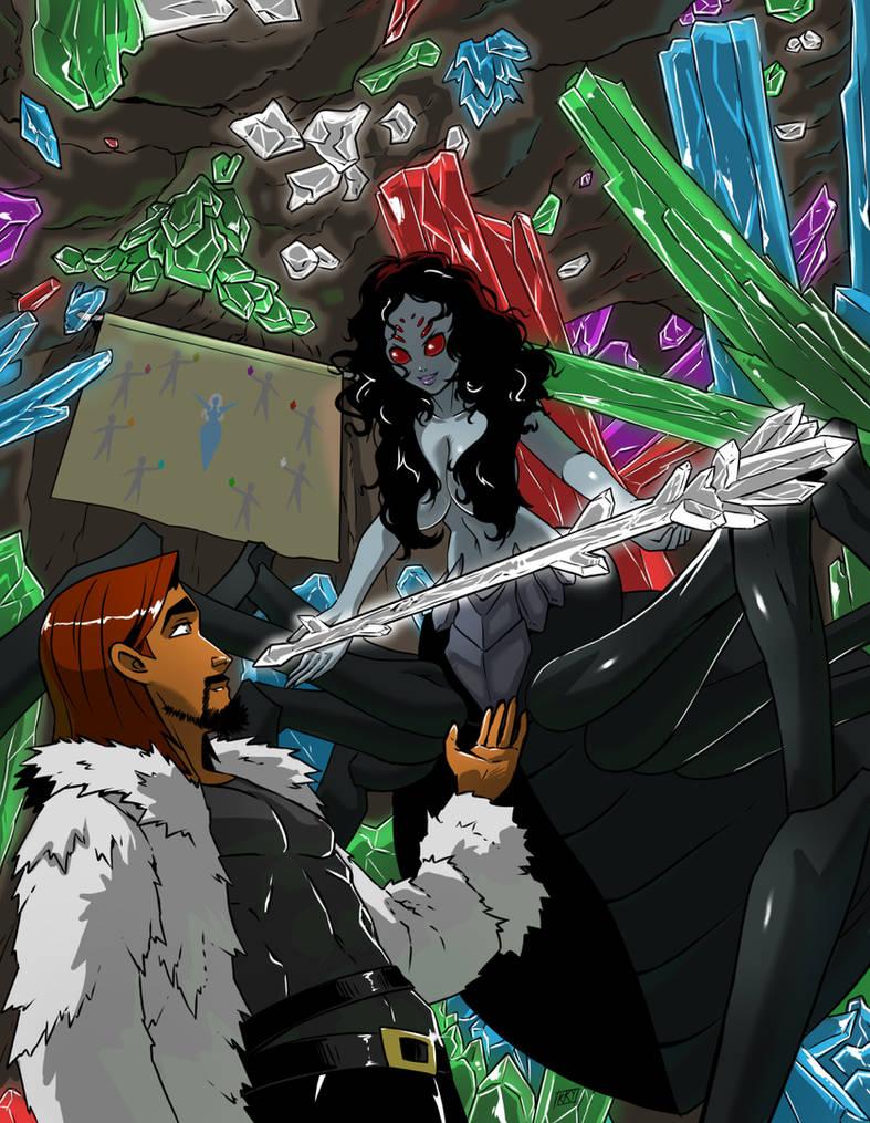Commission: Cirsova spider girl by KukuruyoArt