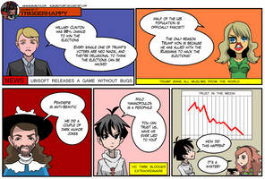 Gamergate Triggerhappy: Fake news by KukuruyoArt