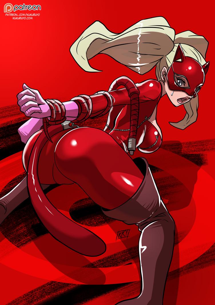 Persona 5 : Ann by KukuruyoArt