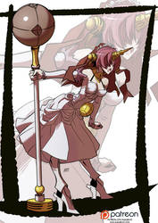 Fate Apocrypha: Frankenstein by KukuruyoArt