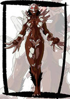 Commission: RWBY monster girl by KukuruyoArt