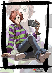 Vivian gender bender by KukuruyoArt