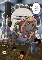 Gamergate third anniversary by KukuruyoArt