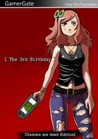 Commission: 3rd birthday Vivian james by KukuruyoArt
