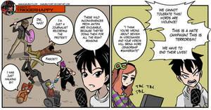 Triggerhappy: Different treatment by KukuruyoArt