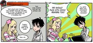 Triggerhappy: Diversity and comics