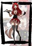 Commission: Fox Waitress