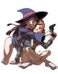 Commission: Vivian James and Akko