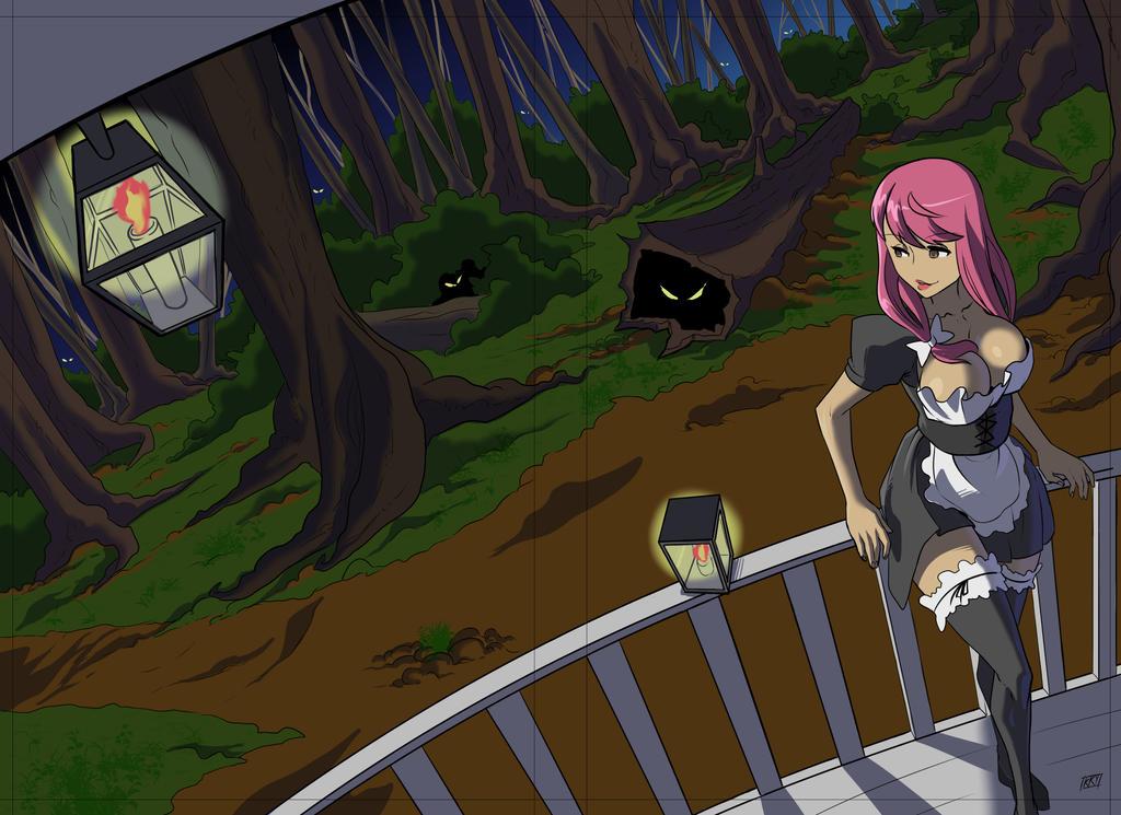 Commission: Book anime cover by KukuruyoArt