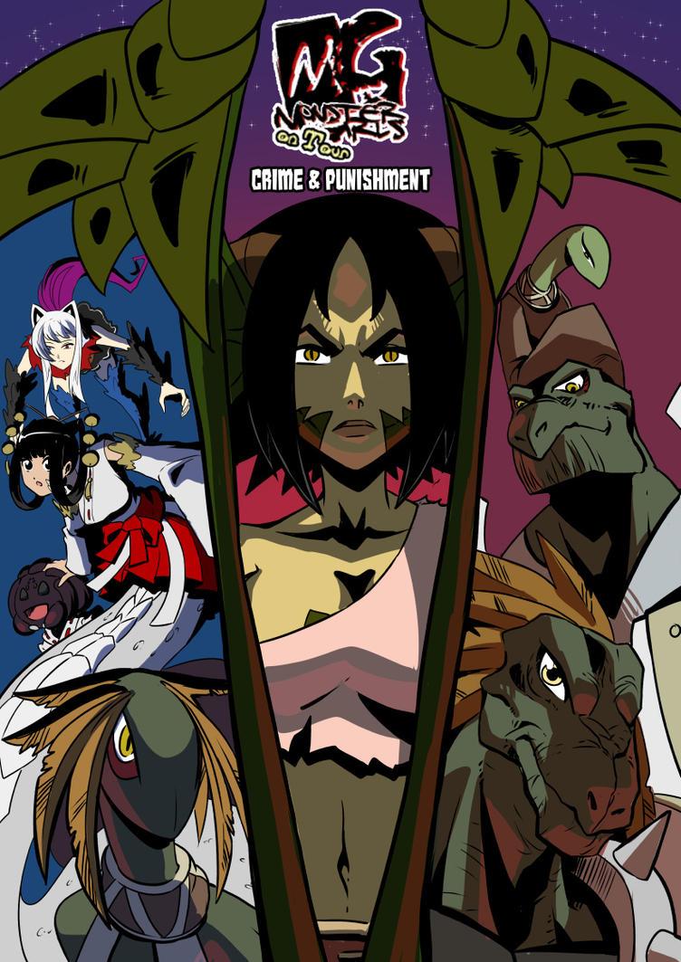 Monster girls on tour: Chapter 5 cover by KukuruyoArt