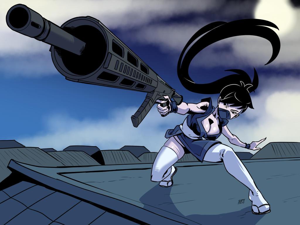 Commission: Ninja by KukuruyoArt