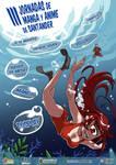 3rd Santander manganime convention poster