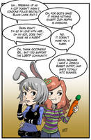 Commissioned Vivian comic 7 by KukuruyoArt
