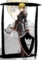 Knight by KukuruyoArt