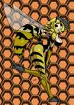 Wasp monster girl