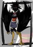 Crow monster girl