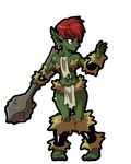 Goblin monster girl