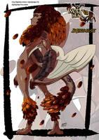 Bazelgeuse monster girl by KukuruyoArt