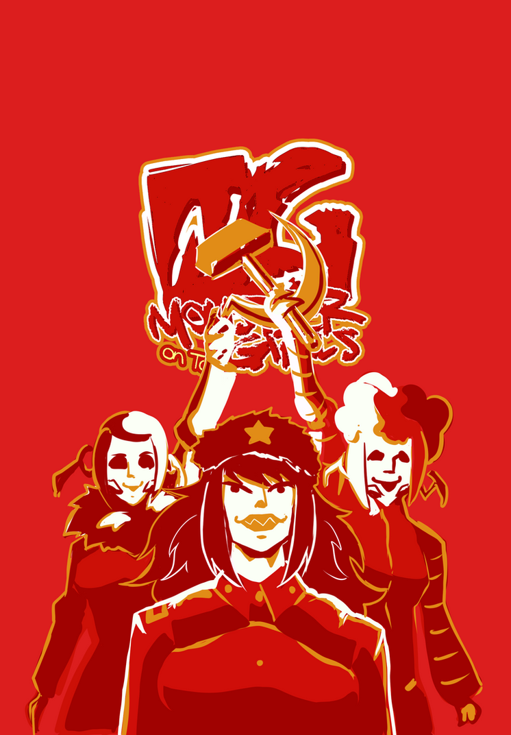 Monster girls on tour 2018 special Halloween by KukuruyoArt