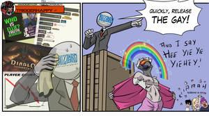 Triggerhappy: Release the gay by KukuruyoArt