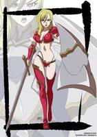 Goblin slayer's paladin bikini armor by KukuruyoArt