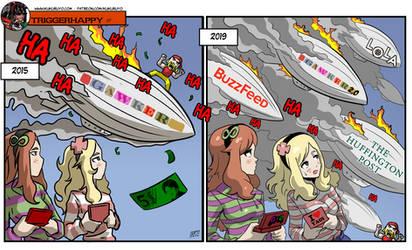 Triggerhappy: Gawker 2.0 by KukuruyoArt