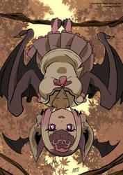 Kemono friends: Vampire bat by KukuruyoArt