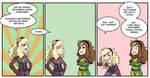 Vivian and Lilian Captain Marvel comic