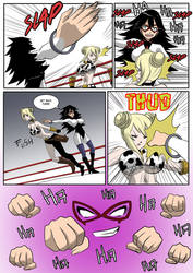 Wrestling match page 3 by KukuruyoArt