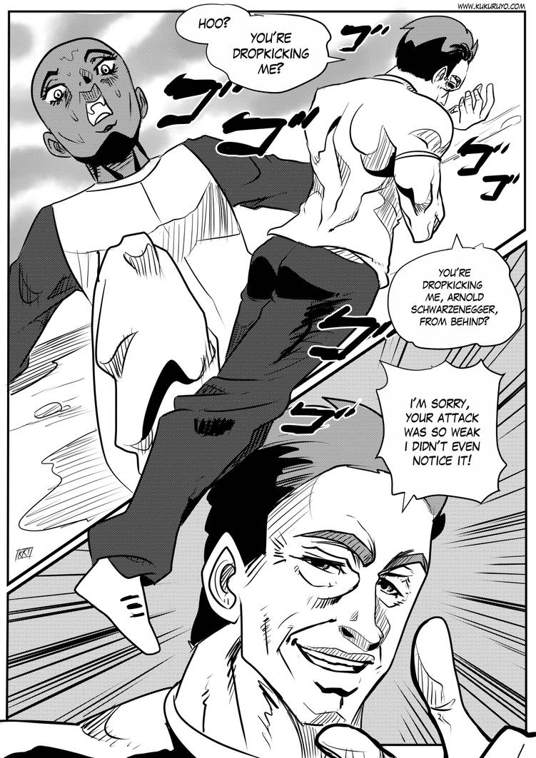 Arnold's Bizarre Adventure by KukuruyoArt