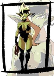 Goblin commission 3 by KukuruyoArt