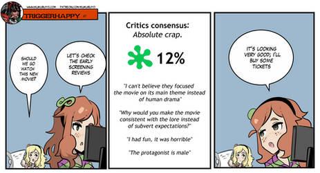 Triggerhappy: Movie Critics