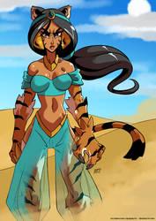 Jasmine monster girl