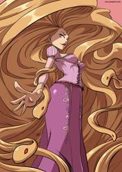 Rapunzel monster girl by KukuruyoArt