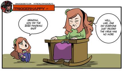 Triggerhappy: Stealthy Corona-chan