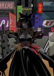 Cyberpunk girl by KukuruyoArt