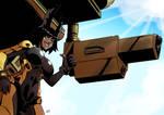Battletech Timberwolf pilot by KukuruyoArt