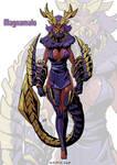 Magnamalo monster girl