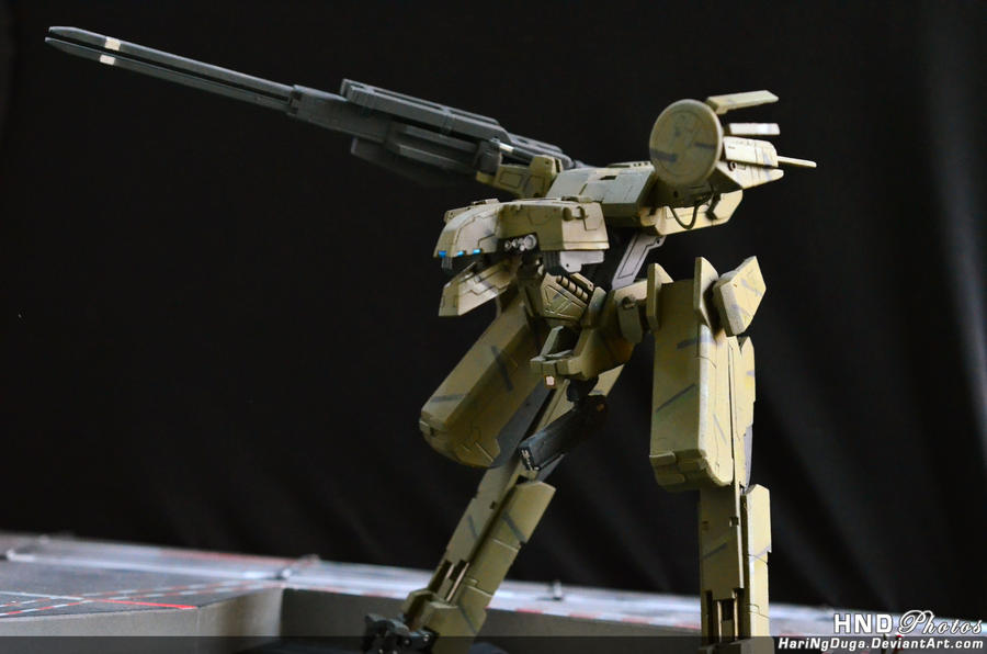 Metal Gear Rex - AB Custom 2 by HariNgDuga