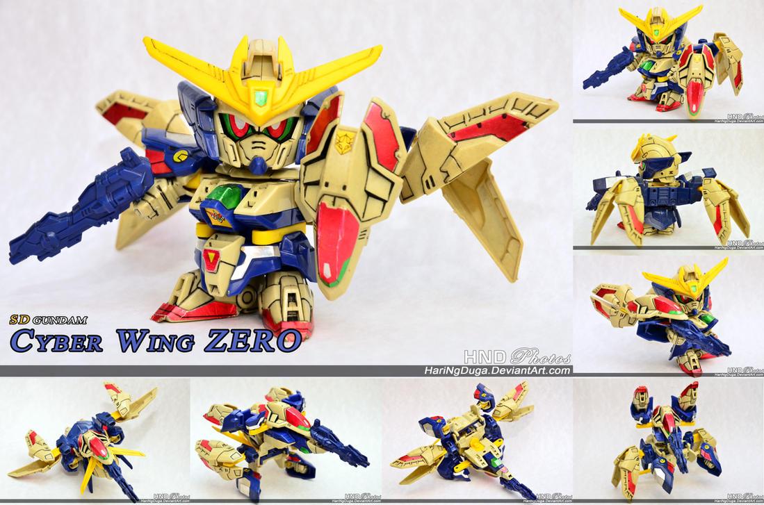 SDW-08 SD Cyber Wing ZERO by HariNgDuga