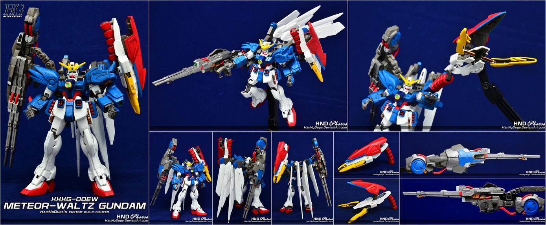 XXXG-00EW METEOR-WALTZ Gundam by HariNgDuga