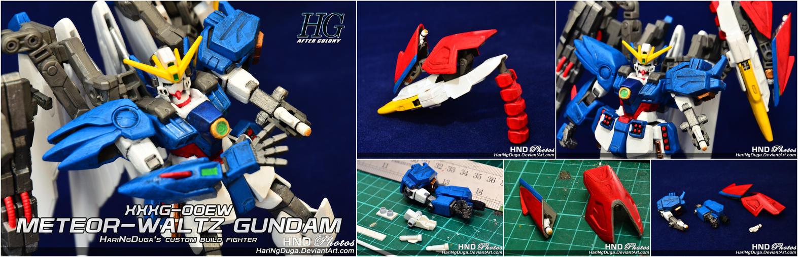 XXXG-00EW METEOR-WALTZ Gundam - Extra Detail by HariNgDuga