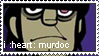i :heart: murdoc stamp by Sabanjo