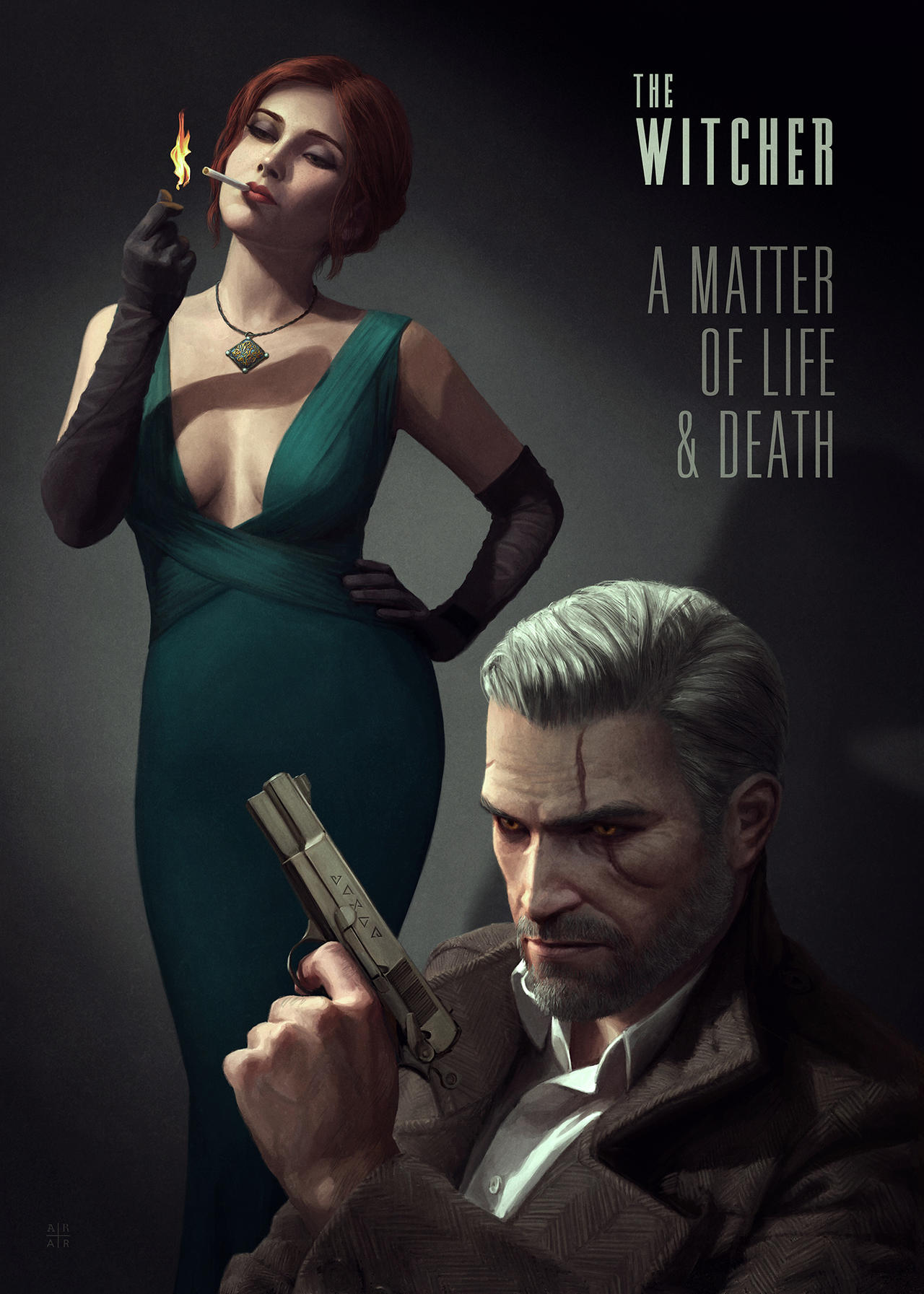 The Witcher - A Matter of Life and Death (Modern) by astoralexander