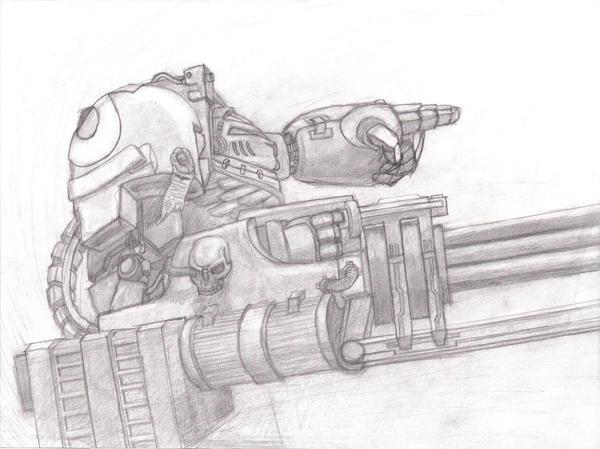 Warhammer 40k Terminator by AENIMAno1