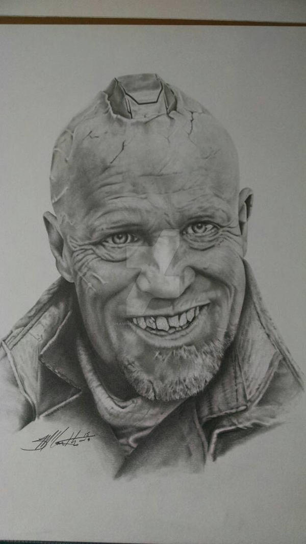 Michael Rooker as Yondu. by ShawnMcCarthy