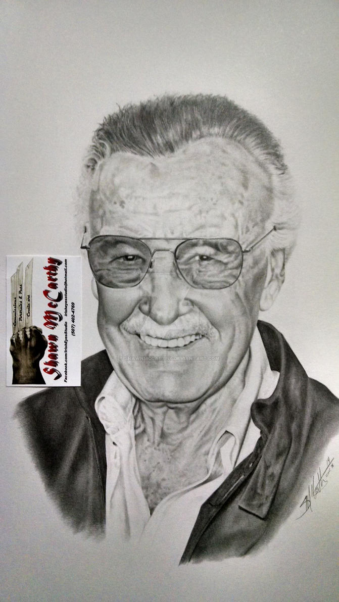 Stan Lee by ShawnMcCarthy