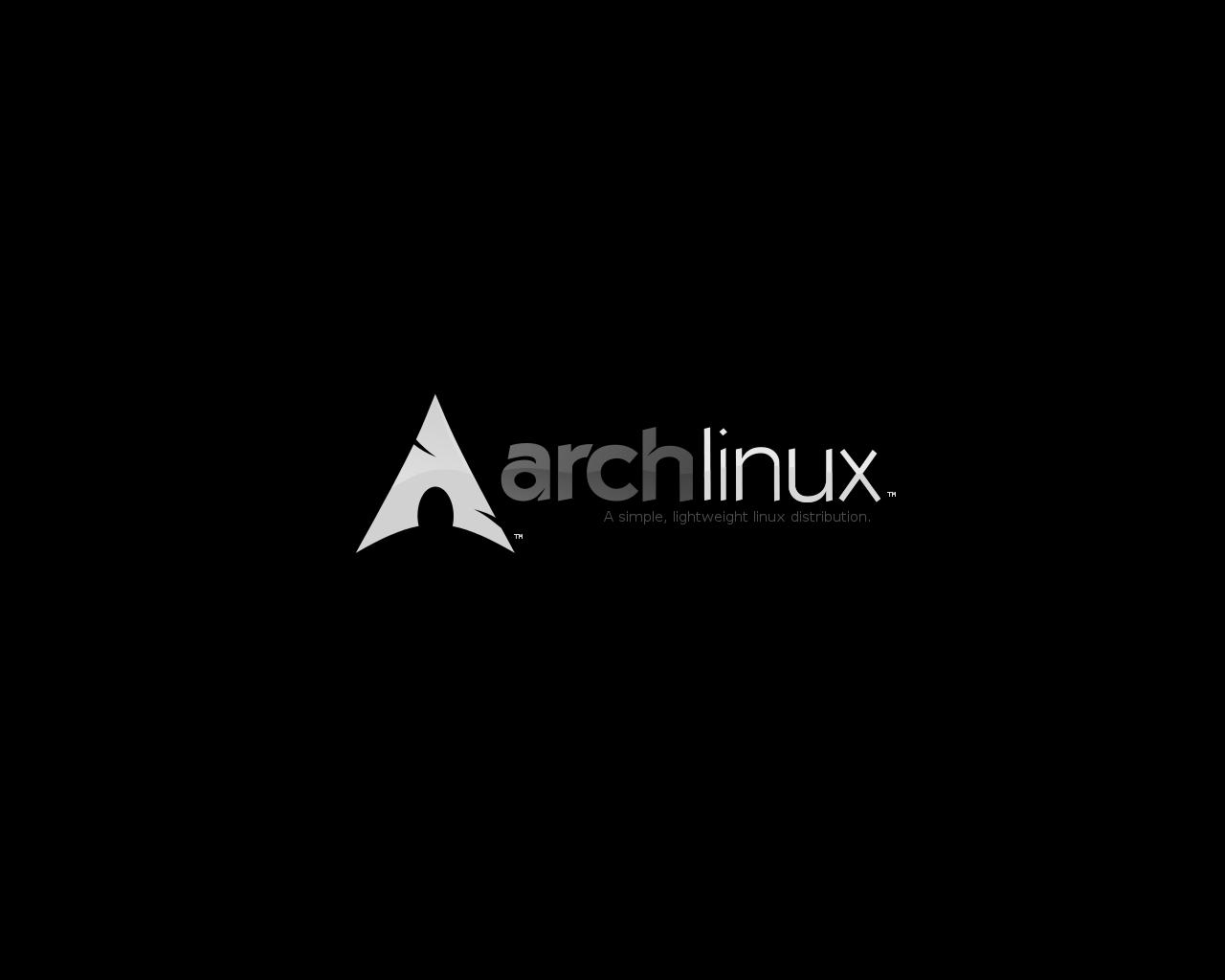 Archlinux_wallpaper_-_greyscle by platinummonkey